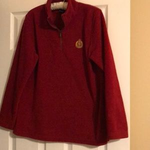 Women's Red Lauren Ralph Lauren Medium Hoodie